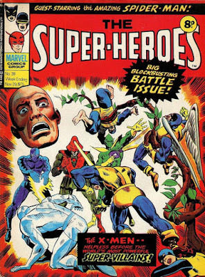 Marvel UK, The Super-Heroes #39, X-Men
