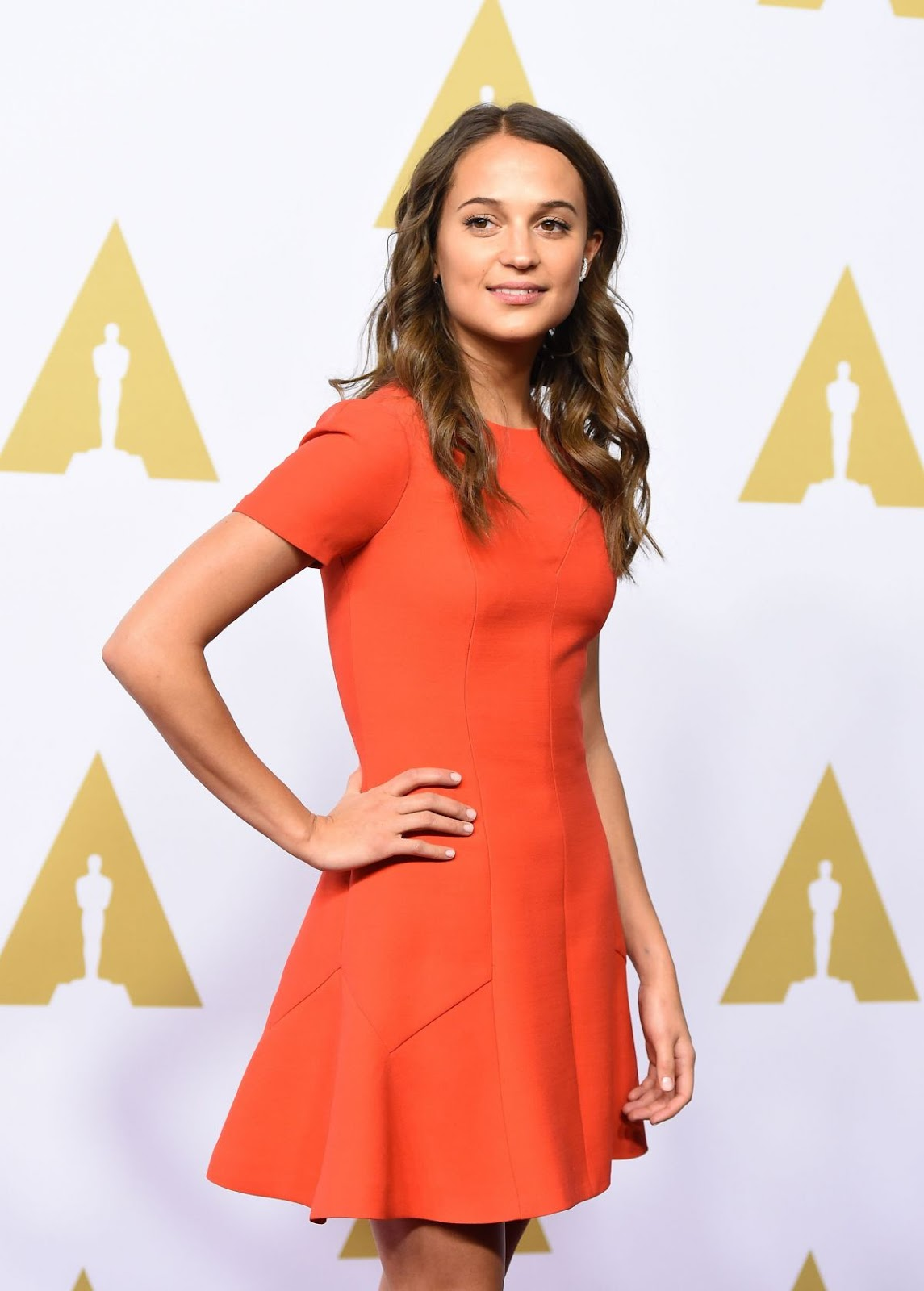 """Jason Bourne"" Alicia Vikander at Academy Awards Nominee Luncheon in Beverly Hills"