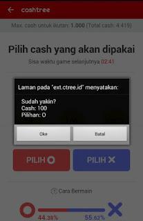 img 20160822 184753 Cara mudah mendapatkan pulsa gratis dari Cashtree Tebak OX (BETA)