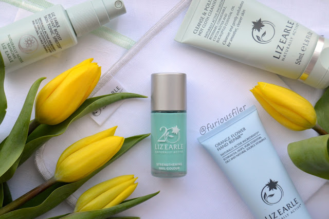 liz earle signature blue review swatch furious filer