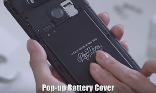 LG V20 Pop up Battery