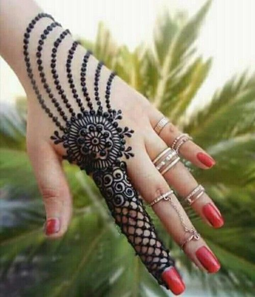 Easy mehndi designs
