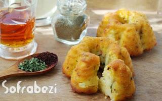 Peynirli Baharatlı Mini Tuzlu Kek