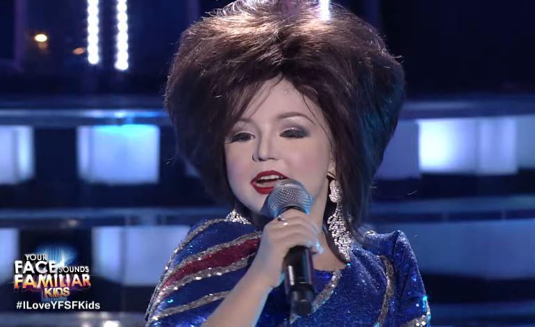 Xia Vigor as Pilita Corales melts judges' hearts on 'Your Face Sounds Familiar Kids'