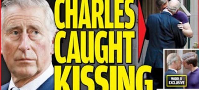 Βρετανία: Περιοδικό δείχνει τον πρίγκιπα Κάρολο να φιλιέται με άλλο άντρα