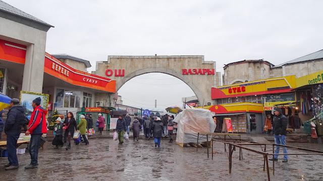 Osh Basar in Bischkek, Kirgistan