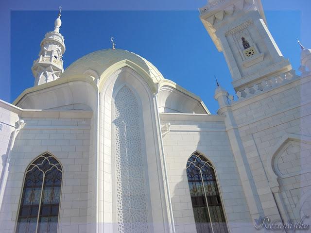 белая мечеть Болгары
