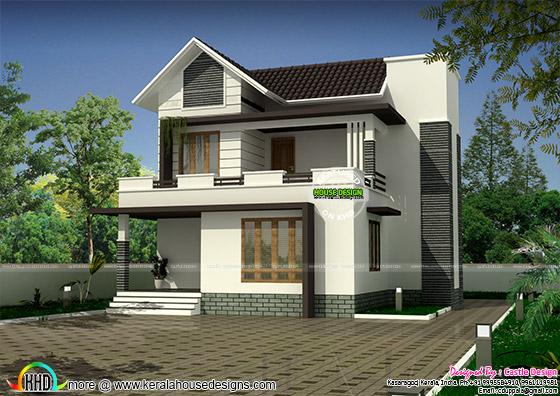 Modern 111 sq-m small house plan