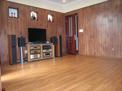 Sàn gỗ tự nhiên dán mặt