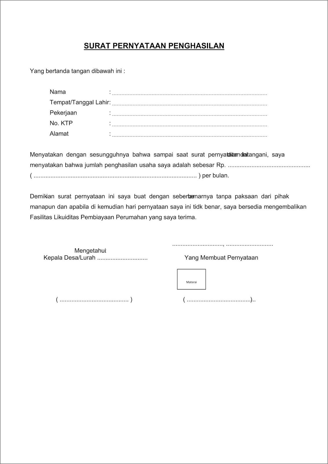 Contoh Surat Keterangan Pindah Penduduk Dari Kepala Desa Doc Kumpulan Surat Penting