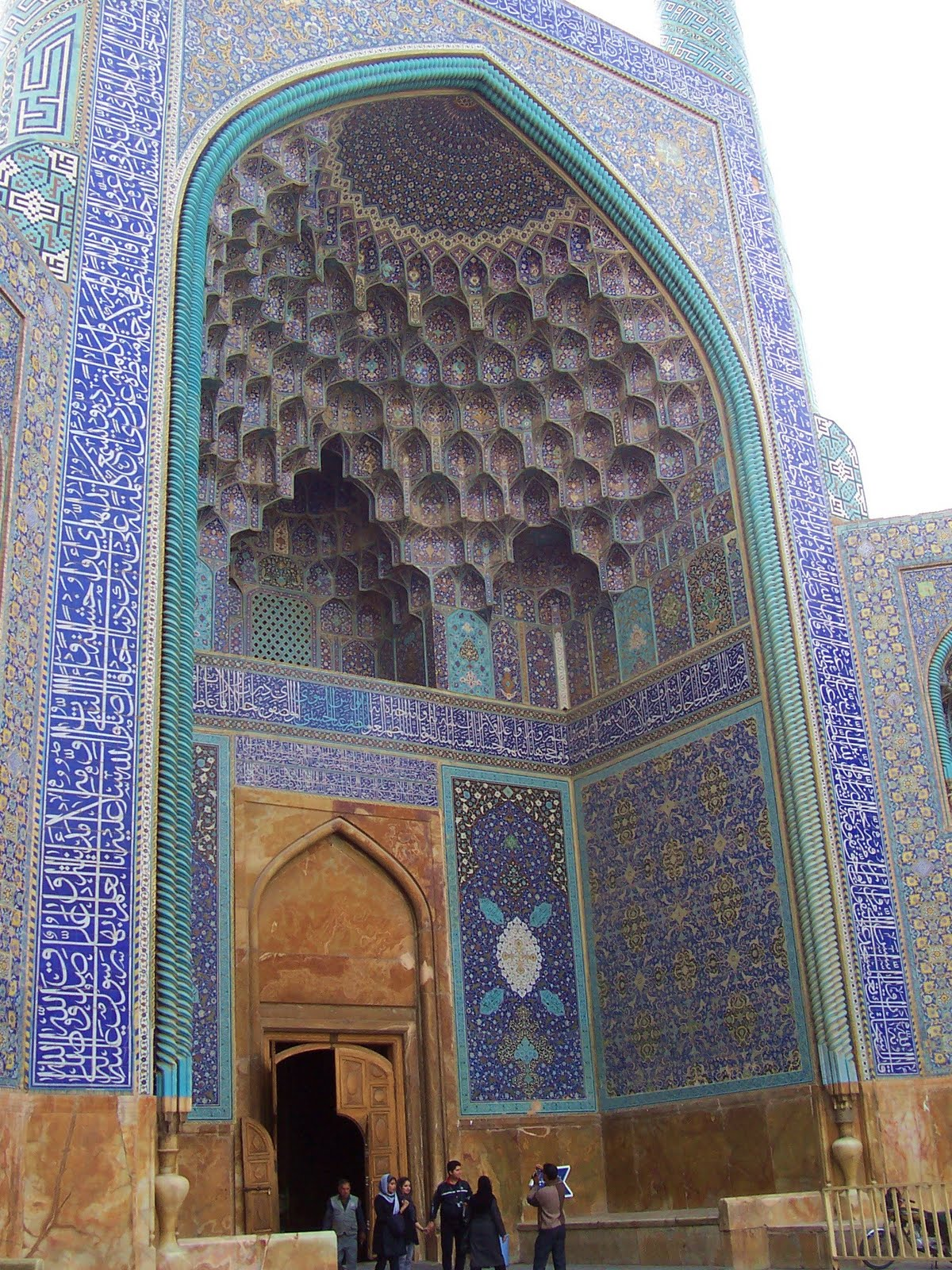 Saffron And Rosewater: The Blue Mosque Of Isfahan