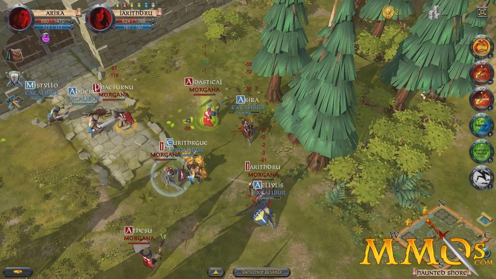 Dunia Game: 22 Game MMORPG ONLINE Android WAJIB Buat Gamers