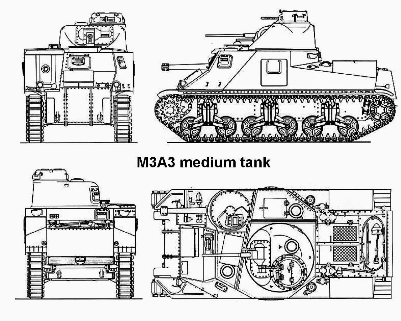 M31b2 Based On M3a5 With Twin General Motors 12
