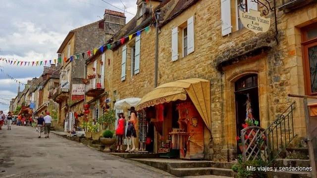Domme, Pueblos del Périgord Negro, Francia