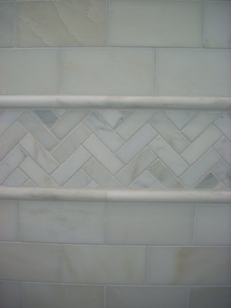 Lowes Chair Rail Tile Folding Z Bed Single To Da Loos: A Beautiful, Classic White Bathroom