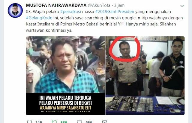 """TERUNGKAP! Mustofa Nahrawardaya BONGKAR """"Gelang Kode"""" Pelaku Persekusi #2019GantiPresiden"""