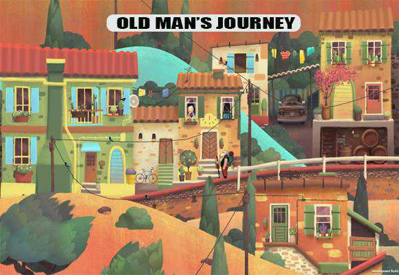 game-petualangan-old-man-journey