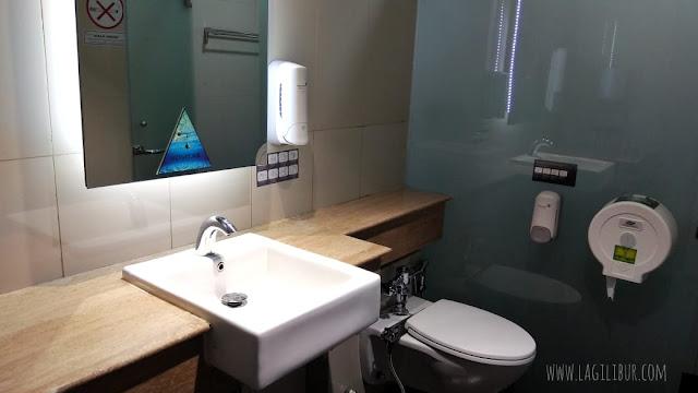Shower Room Bandara Soekarno Hatta Jakarta