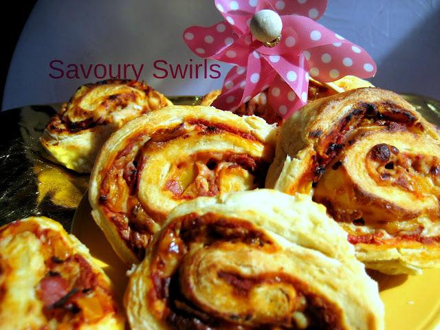 savoury swirls, savoury desserts, croissant pastry