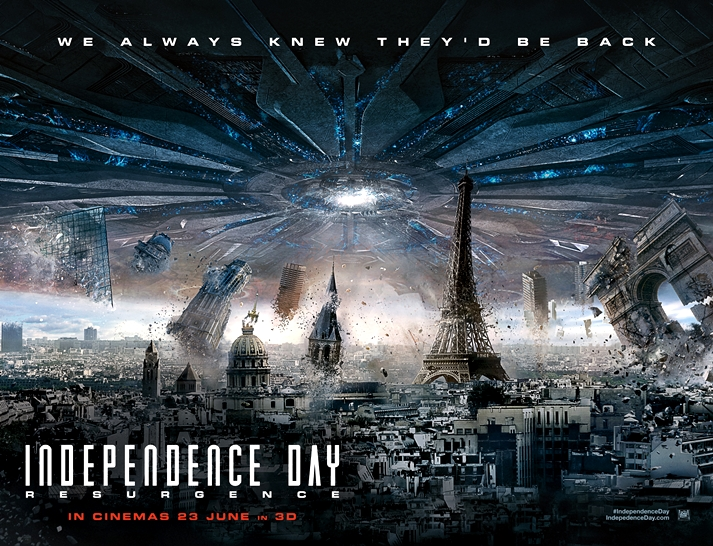 Póster: Independence Day: Resurgence