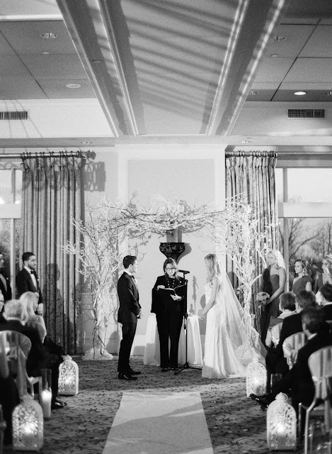 Jenna and Chad's Willow Ridge Country Club Wedding ceremony | Karen Hill Photography