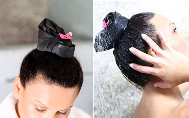 Acessório permite lavar só a raiz do cabelo