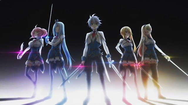 Anime Action School Terbaik - Saijaku Muhai no Bahamut