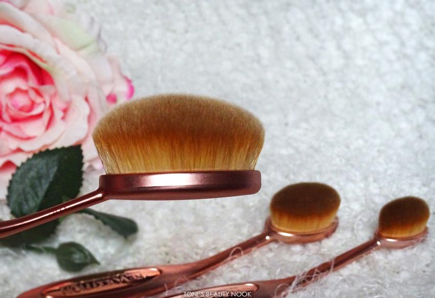 makeup revolution oval face brush