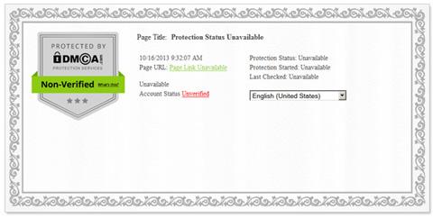 DMCA Certificates