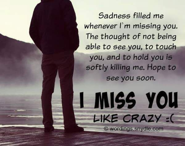 Missing You Quotes For Her Quotes Of The Day