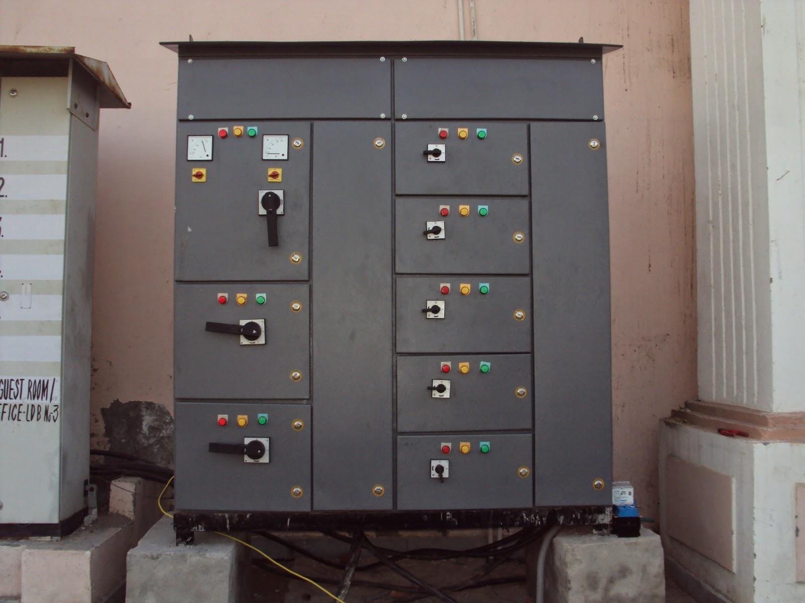 Power Engineering Feeder Pillar Panel Technical Specification