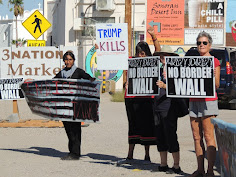 Tohono O'odham Protest Border Wall and Israeli Spy Towers