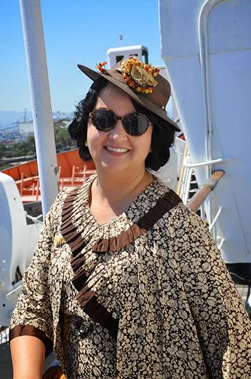 Queen Mary Art Deco Festival 1930s dress