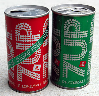 Lata de de 7up retro