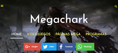 Megachark - Megachark - Videojuegos, Páginas recomendadas y Programas gratuitos.