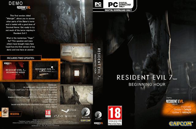 Capa Resident Evil 7 PC
