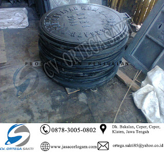 Manhole Cover Cast Iron bulat