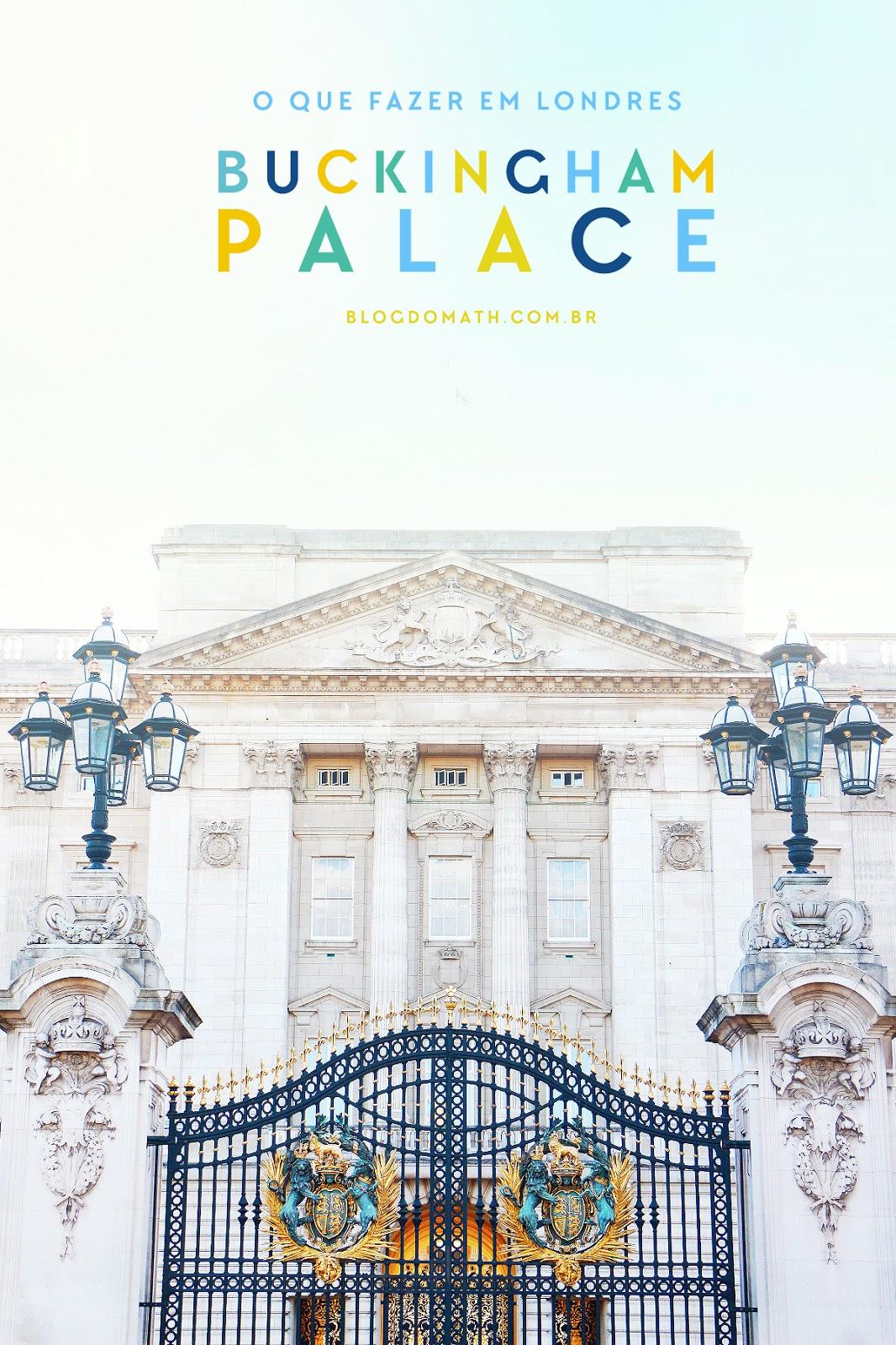roteiro pontos turisticos londres palacio castelo residencia da rainha da inglaterra