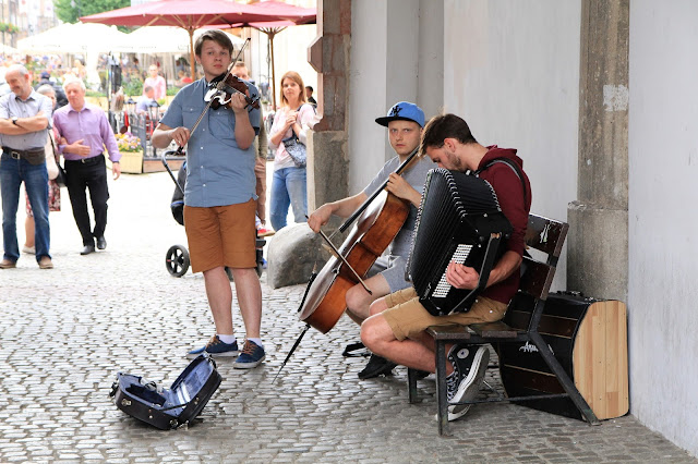 Great musicians in Gdans Poland