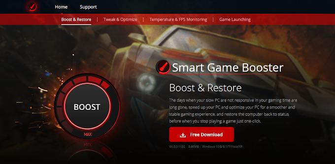 Update Smart Game Booster V4.0.0.1132 Free