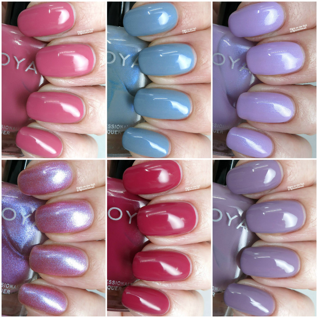 Right on the Nail: Zoya Spring 2018 Thrive Collection Swatches and ...