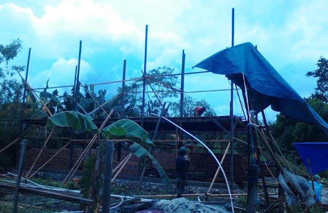 Rincian Biaya Pembangunan Gedung Walet Ukuran 8 x 12 Konstruksi Kayu