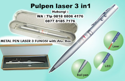 Jual Pen Laser 3 Fungsi / Pulpen Laser 3 Fungsi