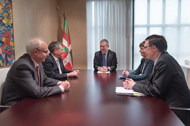 Emiliano López Atxurra se reúne con el Lehendakari