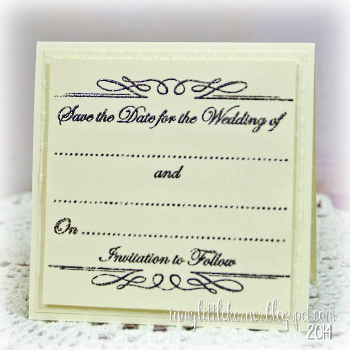 Wedding Invitation Craft Supplies