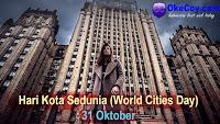Sejarah dan Tema Hari Kota Sedunia se-dunia internasional 31 Oktober
