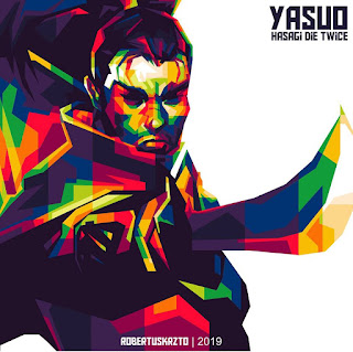 Yasuo Leauge Of Legend WPAP