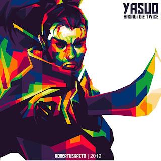 Yasuo Leauge Of Legend WPAP