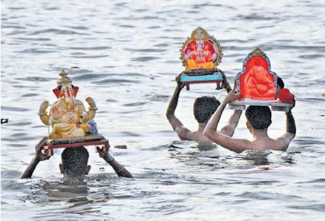 Ganesh Visarjan Image