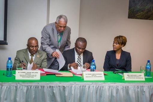 Haití inicia plan para luchar contra el cambio climático